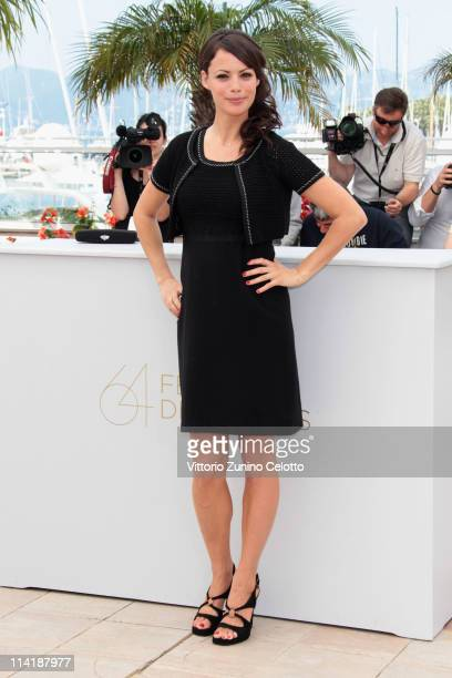 Actress Berenice Bejo attends The Artist photocall at the Palais des Festivals during the 64th Cannes Film Festival on May 15 2011 in Cannes France