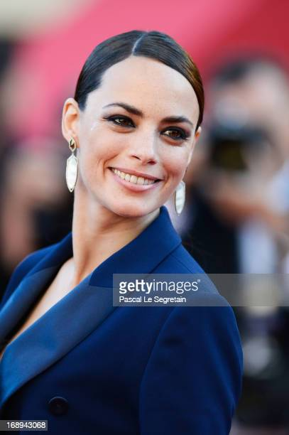 Actress Berenice Bejo attends the Premiere of 'Le Passe' during The 66th Annual Cannes Film Festival at Palais des Festivals on May 17 2013 in Cannes...