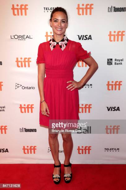 Actress Berenice Bejo attends the 'Redoubtable' premiere during the 2017 Toronto International Film Festival at The Elgin on September 14 2017 in...