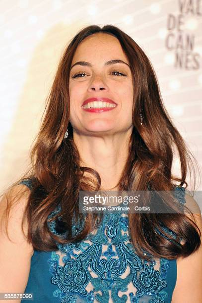 Actress Berenice Bejo awarded with the Prix d'Interpretation Feminine attends the 'Palme D'Or Winners dinner' during the 66th Cannes International...