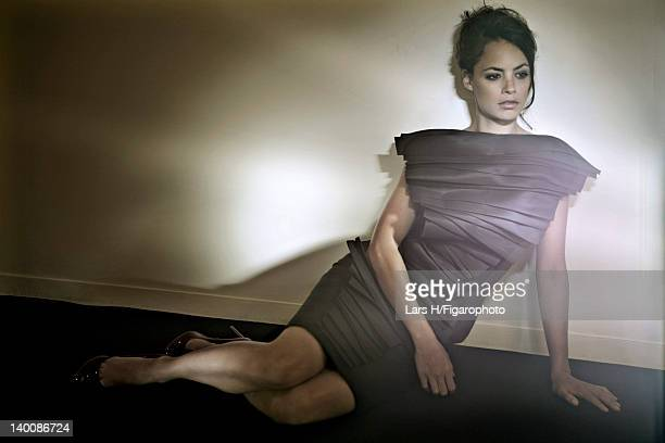 Actress Berenice Bejo is photographed for Madame Figaro on July 2 2009 in Paris France Figaro ID085487004 CREDIT MUST READ Lars H/Figarophoto/Contour...