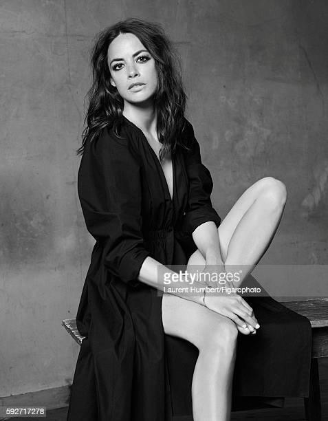 Actress Berenice Bejo is photographed for Madame Figaro on May 25, 2016 in Paris, France. Dress , Liens bracelet . PUBLISHED IMAGE. CREDIT MUST READ:...