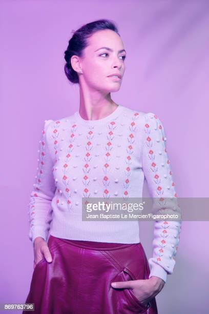 Actress Berenice Bejo is photographed for Madame Figaro on September 15 2017 at the Toronto Film Festival in Toronto Ontario PUBLISHED IMAGE CREDIT...
