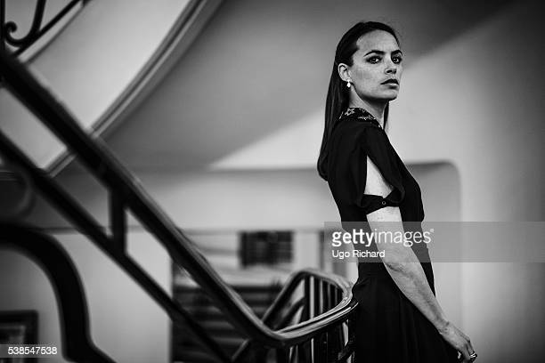 Actress Berenice Bejo is photographed for Self Assignment on May 11, 2016 in Cannes, France.