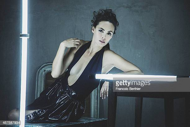 Actress Berenice Bejo is photographed for Self Assignment on October 14 2014 in Paris France