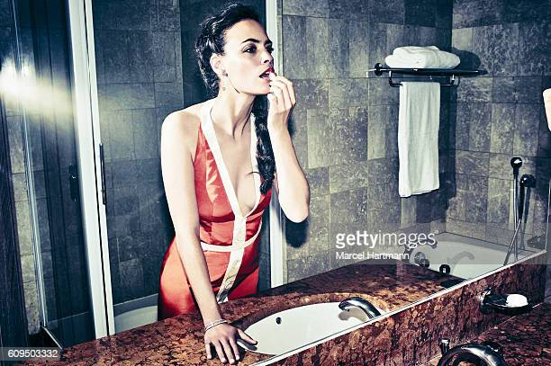 Actress Berenice Bejo is photographed for Vanity Fair Italy on May 12 2016 in Cannes France