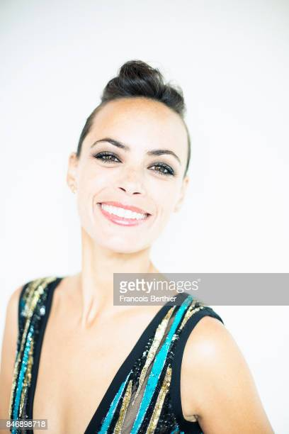 Actress Berenice Bejo is photographed on September 9 2017 in Deauville France