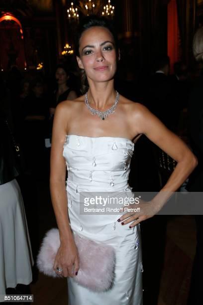 Actress Berenice Bejo Jewelry Chaumet and Dress Miu Miu attends the Opening Season Gala Ballet of Opera National de Paris Held at Opera Garnier on...