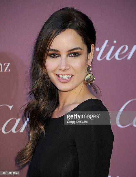 Actress Berenice Marlohe arrives at the 26th Annual Palm Springs International Film Festival Awards Gala Presented By Cartier at Palm Springs...