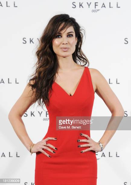 Actress Berenice Marlohe attends a photocall with cast and filmmakers to mark the start of production which is due to commence on the 23rd Bond Film...