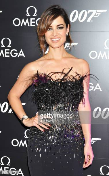 Actress Berenice Marlohe attends a reception hosted by Omega at Nicolas G Hayek Center on November 19 2012 in Tokyo Japan