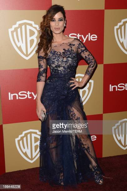 Actress Berenice Marlohe attends the 14th Annual Warner Bros And InStyle Golden Globe Awards After Party held at the Oasis Courtyard at the Beverly...