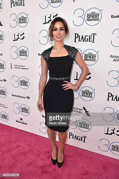 Actress Berenice Marlohe attends the 2015 Film Independent Spirit Awards at Santa Monica Beach on February 21 2015 in Santa Monica California