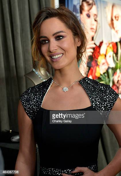 Actress Berenice Marlohe attends the 30th Annual Film Independent Spirit Awards at Santa Monica Beach on February 21 2015 in Santa Monica California