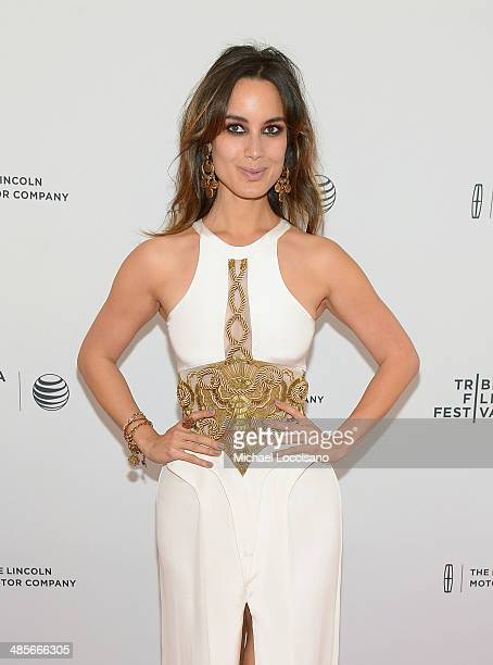 Actress Berenice Marlohe attends the 5 To 7 Premiere during the 2014 Tribeca Film Festival at the SVA Theater on April 19 2014 in New York City