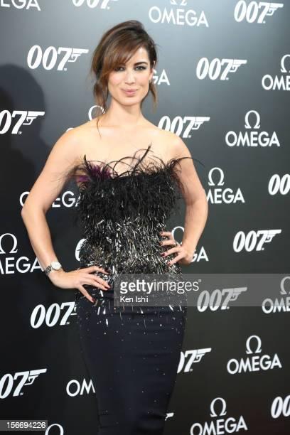 Actress Berenice Marlohe attends the Omega x Hankyu Men's Tokyo x Bond Girl Berenice Marlohe at Hankyu Men's Tokyo on November 19 2012 in Tokyo Japan