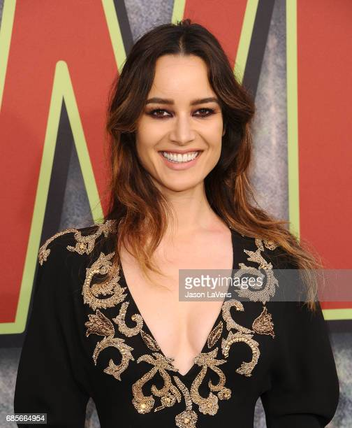 Actress Berenice Marlohe attends the premiere of Twin Peaks at Ace Hotel on May 19 2017 in Los Angeles California