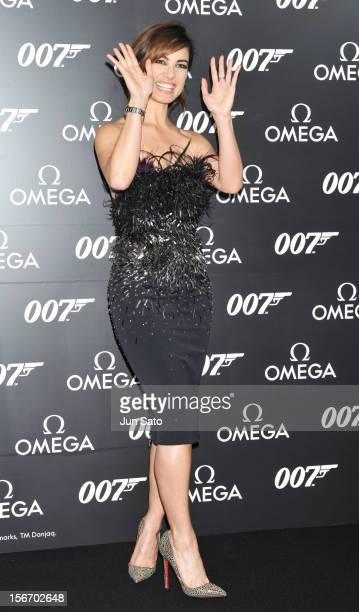 Actress Berenice Marlohe attends the 'Skyfall' Japan Premiere at Toho Cinemas Nichigeki on November 19 2012 in Tokyo Japan The film will open on...