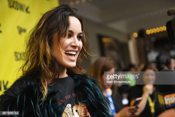 Actress Berenice Marlohe attends the Song To Song premiere 2017 SXSW Conference and Festivals at Paramount Theatre on March 10 2017 in Austin Texas