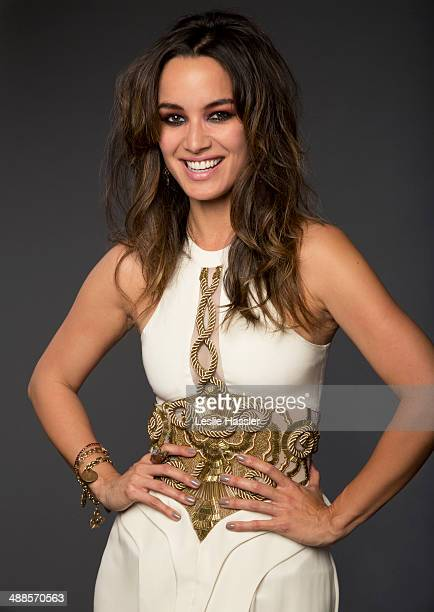 Actress Berenice Marlohe is photographed at the Tribeca Film Festival on April 19 2014 at the Tribeca Film Festival in New York City