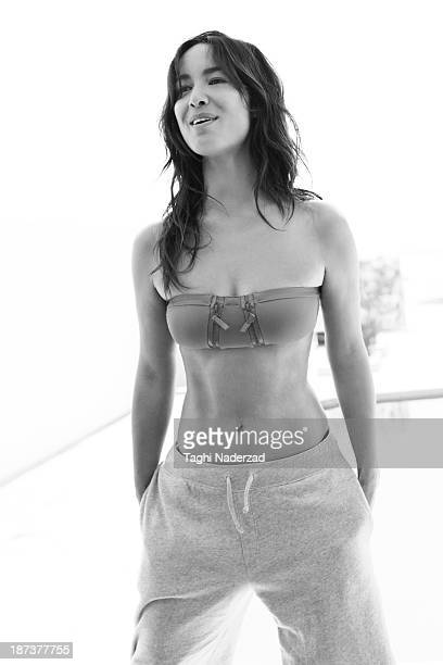 Actress Berenice Marlohe is photographed for Grazia France on May 9 2013 in Santa Monica California PUBLISHED IMAGE