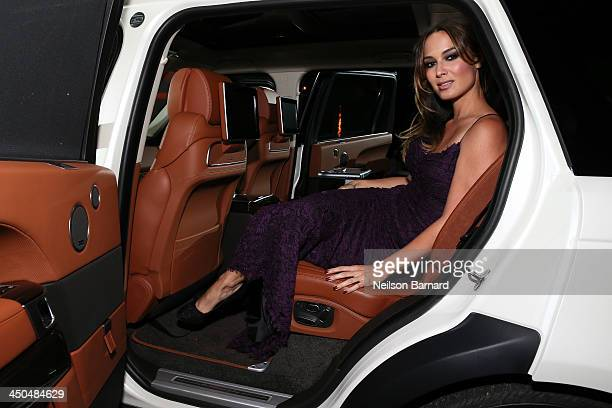 Actress Berenice Marlohe was on hand at an exclusive reception to unveil the ultraluxurious Range Rover LWB Autobiography Black the new pinnacle of...