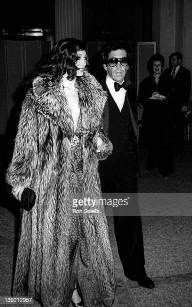 Actress Berenson attends Diana Vreeland Costume Exhitition 'The Glory of Russian Costume' on December 6 1976 at the Metropolitan Museum of Art in New...