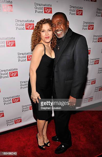 Actress Bernadette Peters and actor Ben Vereen attend the Great Writers Thank Their Lucky Stars annual gala hosted by The Dramatists Guild Fund on...