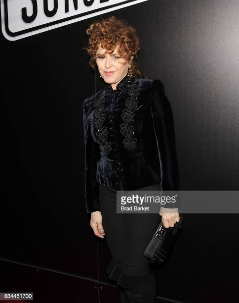 Actress Bernadette Peters attends Andrew Lloyd Webber's SUNSET BOULEVARD Opens On Broadway Starring Glenn Close on February 9 2017 in New York City