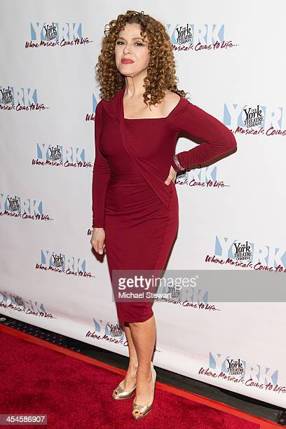 Actress Bernadette Peters attends the 22nd annual Oscar Hammerstein Award gala at The Hudson Theatre on December 9 2013 in New York City