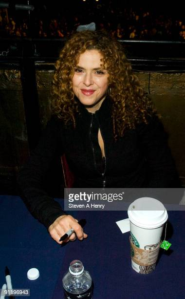 Actress Bernadette Peters attends the 23rd Annual Broadway Flea Market Grand Auction at Roseland Ballroom on September 27 2009 in New York City