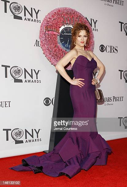 Actress Bernadette Peters attends the 66th Annual Tony Awards at The Beacon Theatre on June 10 2012 in New York City