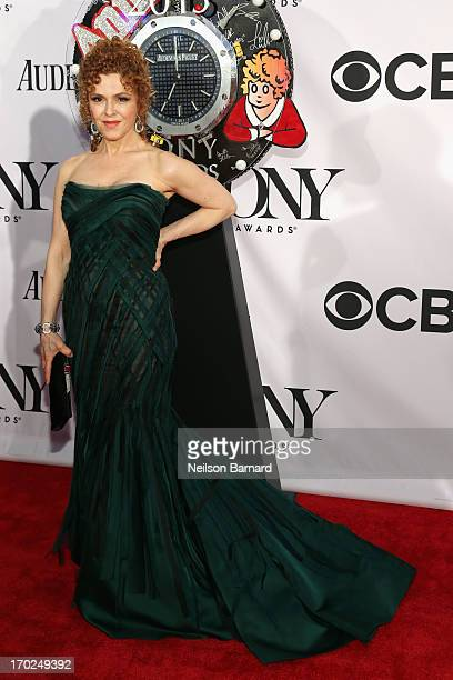 Actress Bernadette Peters attends The 67th Annual Tony Awards at Radio City Music Hall on June 9 2013 in New York City