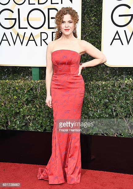 Actress Bernadette Peters attends the 74th Annual Golden Globe Awards at The Beverly Hilton Hotel on January 8 2017 in Beverly Hills California