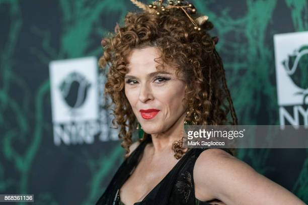 Actress Bernadette Peters attends the Bette Midler's 2017 Hulaween Event Benefiting The New York Restoration Project at Cathedral of St John the...