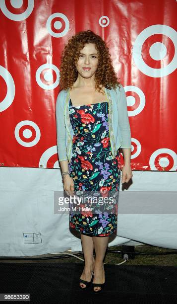 Actress Bernadette Peters attends the Los Angeles Times Festival of Books on the Campus of UCLA on April 24, 2010 in Westwood, California.