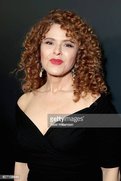 Actress Bernadette Peters attends the 'Mozart In the Jungle' red Carpet premiere and concert held at The Grove on December 1 2016 in Los Angeles...
