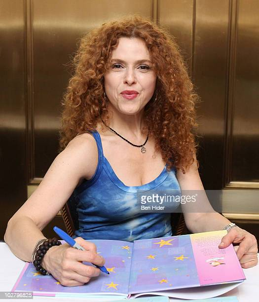 Actress Bernadette Peters promotes Stella Is A Star at Gerald Schoenfeld Theatre on July 10 2010 in New York City