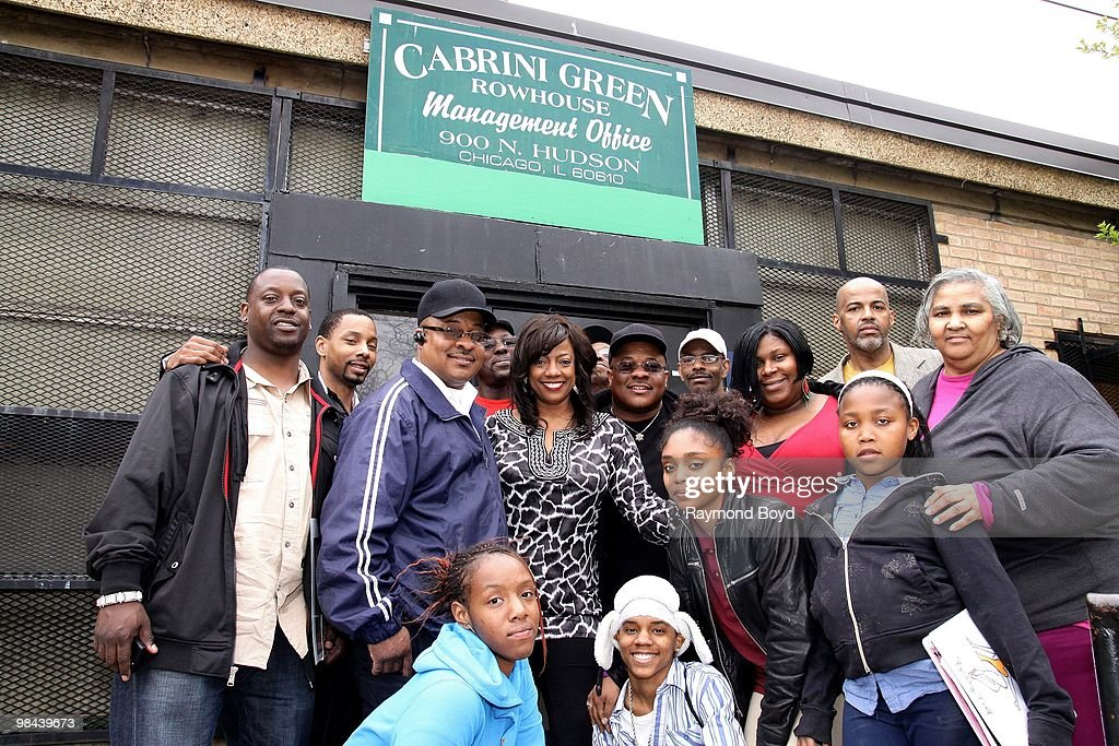 "BernNadette Stanis ""Make Your Mark Campaign"" In Chicago : ニュース写真"