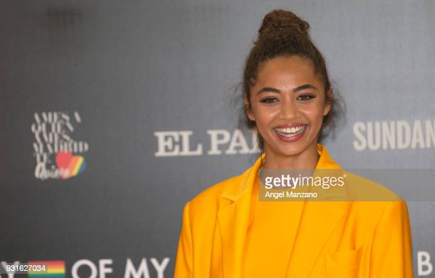 Actress Berta Vazquez attends 'The Best Day Of My Life' Madrid premiere at Callao cinema on March 13 2018 in Madrid Spain