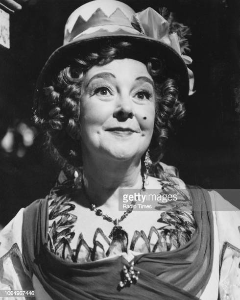 Actress Beryl Reid in a scene from the BBC Play of the Month 'The Rivals' February 8th 1970