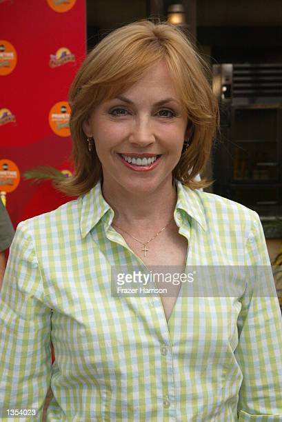 Actress Bess Armstrong and of the ABC network show That Was Then attends the ABC Primetime Preview Weekend on August 25 2002 at Disney's California...