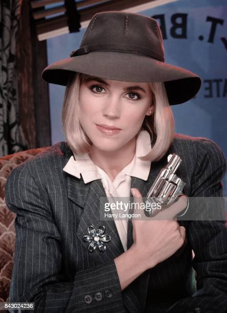 Actress Bess Armstrong poses for a portrait as private detective BT Brady in the TV movie 'This Girl for Hire' in 1983 in Los Angeles California