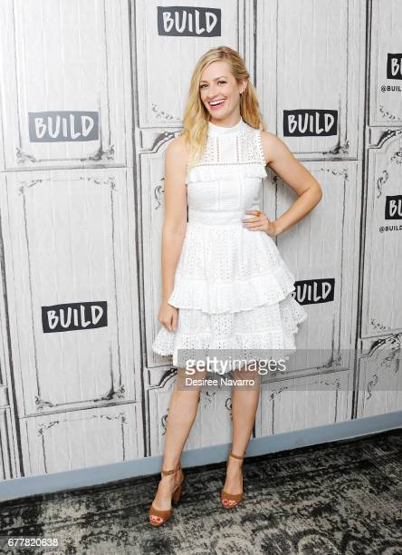 Actress Beth Behrs attends Build to discuss her new book 'The Total MeTox' at Build Studio on May 3 2017 in New York City