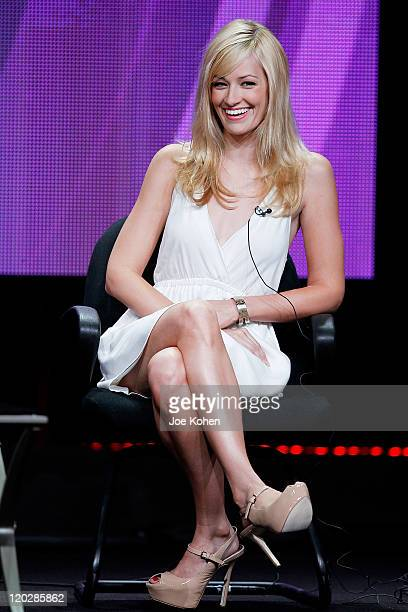Actress Beth Behrs attends the 2011 CBS Summer Press Tour Day Sessions at The Beverly Hilton hotel on August 3 2011 in Beverly Hills California