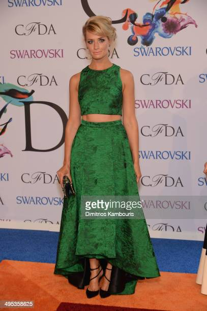 Actress Beth Behrs attends the 2014 CFDA fashion awards at Alice Tully Hall Lincoln Center on June 2 2014 in New York City