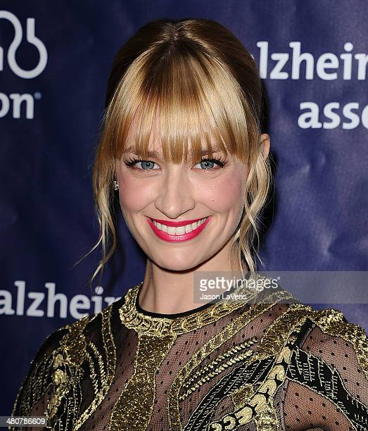 Actress Beth Behrs attends the 22nd 'A Night At Sardi's' at The Beverly Hilton Hotel on March 26 2014 in Beverly Hills California