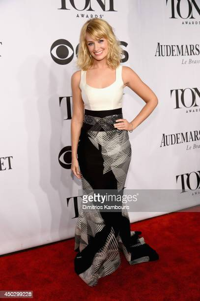 Actress Beth Behrs attends the 68th Annual Tony Awards at Radio City Music Hall on June 8 2014 in New York City