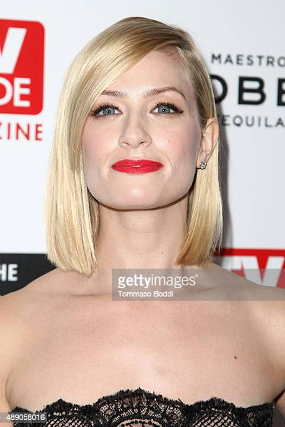 Actress Beth Behrs attends the Television Industry Advocacy Awards benefiting The Creative Coalition in Partnership With TV Guide Magazine and TV...
