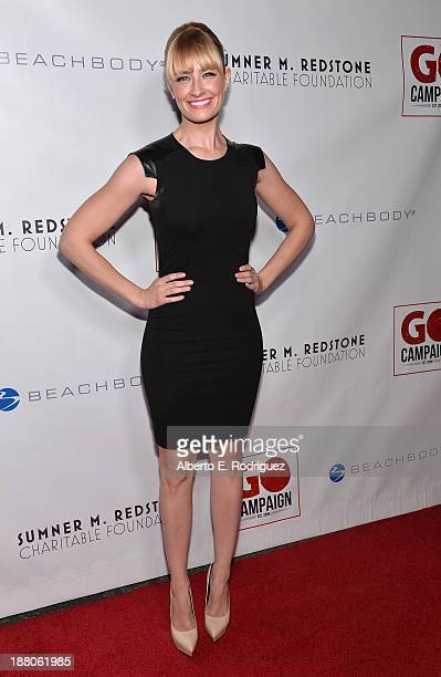 Actress Beth Behrs atttends the 6th annual GO GO Gala on November 14 2013 in Pacific Palisades California